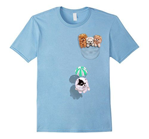 Men's T-Shirt - Cute Tea Cup Pomeranian Puppy, Dog in Poc... https://www.amazon.com/dp/B06ZXYQQKK/ref=cm_sw_r_pi_dp_x_xYj-ybKTBMDN7