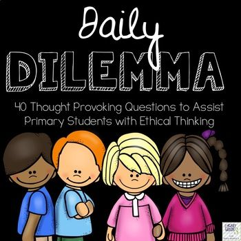 Are you looking to give your students a way to reflect upon and voice their opinions when it comes to moral or ethical dilemmas? Are you an ethics or religious education teacher looking a way to evaluate your student's ability to reflect upon moral and ethical situations?