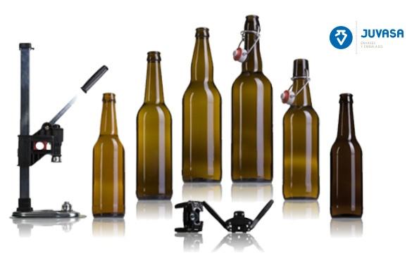 #Botellas de #vidrio para cerveza. juvasa.com