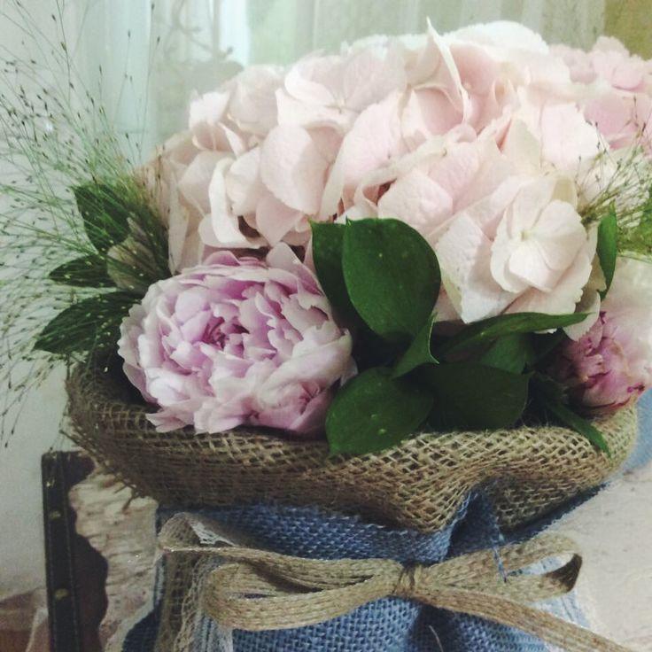 Ροζ Πεόνιες