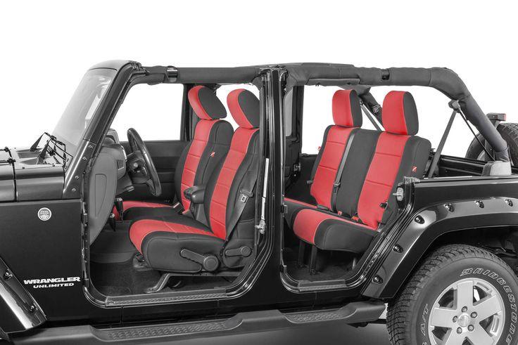 Quadratec® Diver Down Neoprene Seat Covers 07-17 Wrangler Unlimited JK   Quadratec