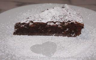 """il posto delle visciole: Torta al cioccolato """"tipo Barozzi"""""""