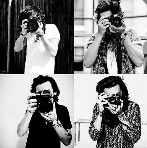 Harry Styles 2015-2014-2013-2012 || the Evolution of Harry and cameras ♥ aw bab