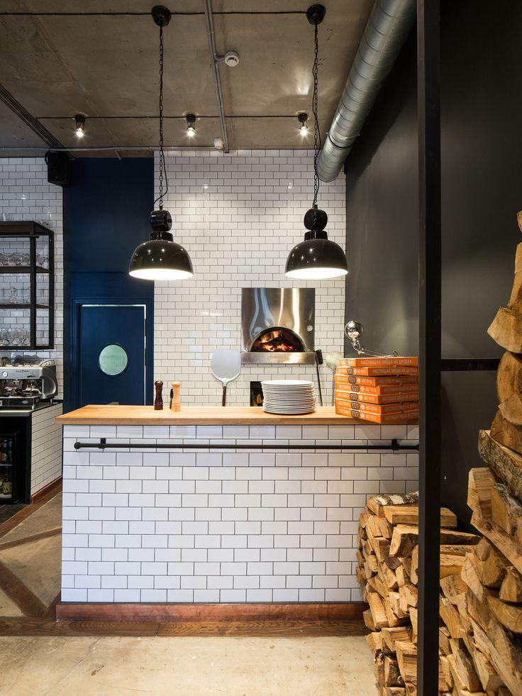 """OTTO Pizza & Wine, автор design group Art Gluck, конкурс """"лучший интерьер ресторана, кафе или бара""""   PINWIN - конкурсы для архитекторов, дизайнеров, декораторов"""