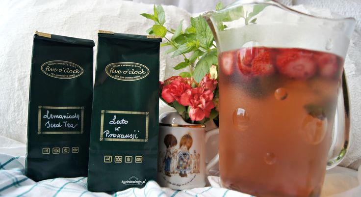 Tea Time! #2 Mrożona herbata na kilka sposobów - życieinspiruje.pl