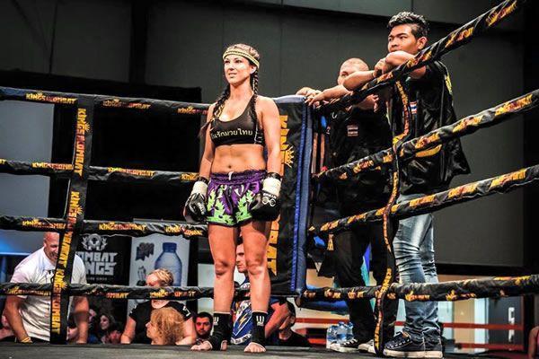 Yolanda Schmidt Battles at 'Nemesis 10' Perth Muay Thai Fight Night