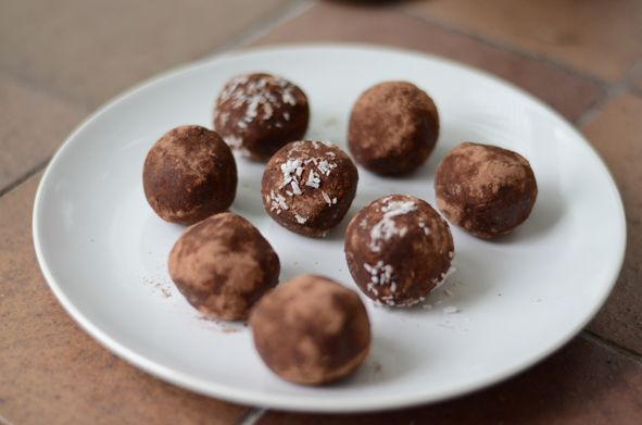 Date, almond, coconut and cacao energy balls | Fashion, Trends, Beauty Tips & Celebrity Style Magazine | ELLE UK