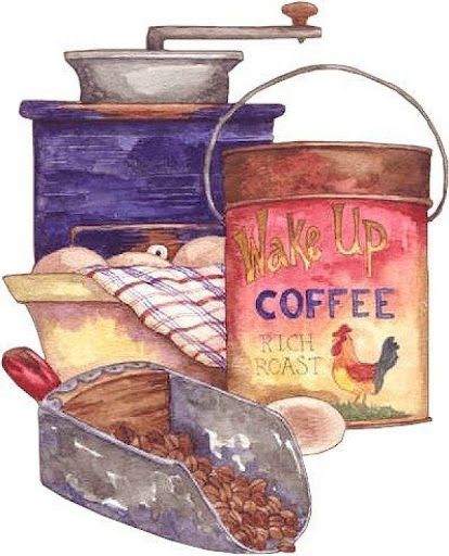 Coffee illustration by Diane Knott