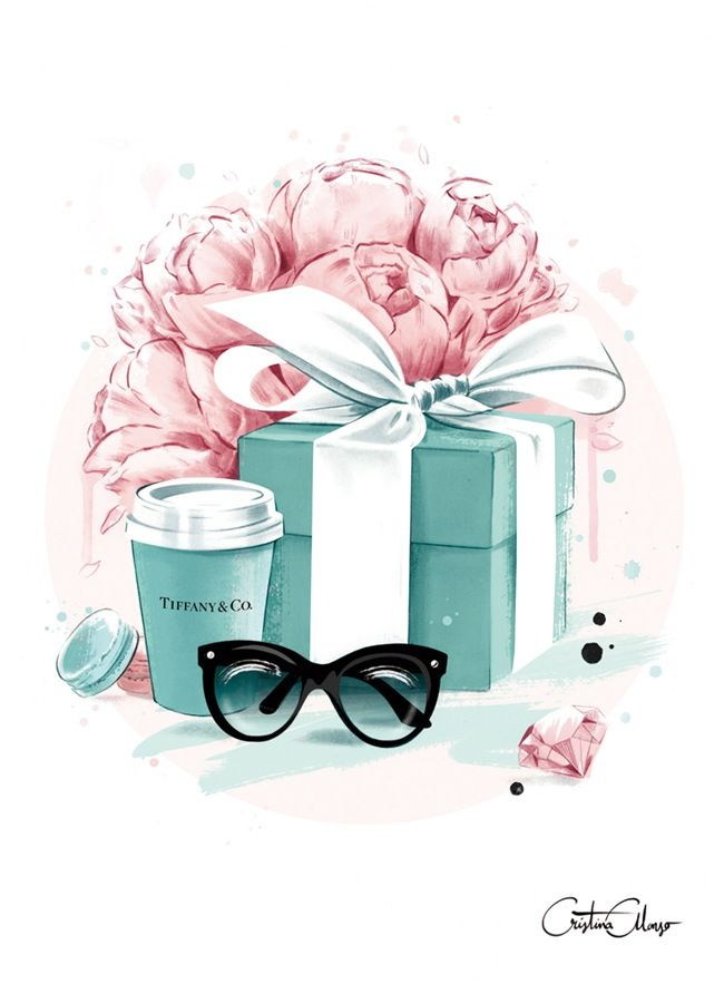 Image of Tiffany Blue Print