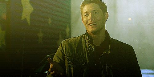 you know you are a part of the spn fandom when a character smiles and all you want to do is sob and die