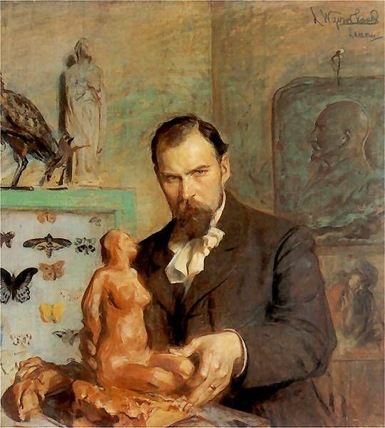 Konstanty Laszczka by Leon Wyczółkowski (1901-1902)