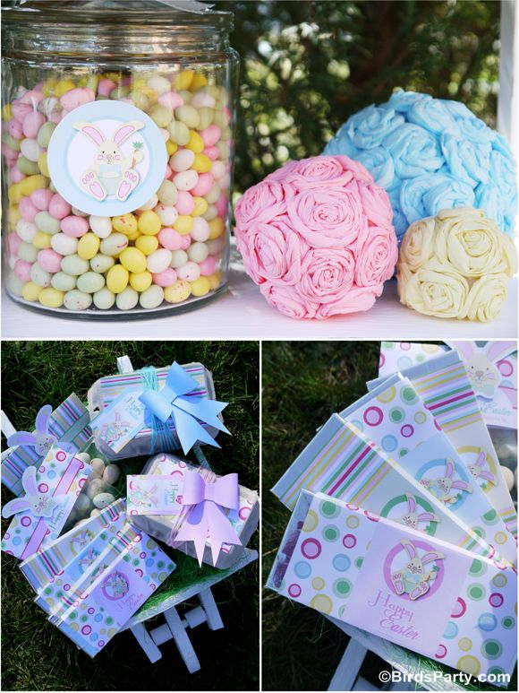 Kid's Easter Egg Hunt Party + our NEW Easter Printable Collection   – Party Ideas