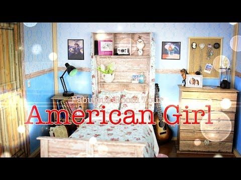 Delightful By MyFroggyStuff · Fabulous Room Tour: American Girl Room   YouTube Part 29