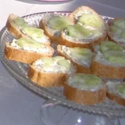 Cucumber Sandwiches III Recipe - Great snacks