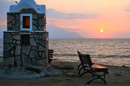 #Halkidiki Sunrise at #Sarti View Point - #Greece @visitgreecegr @visithalkidiki