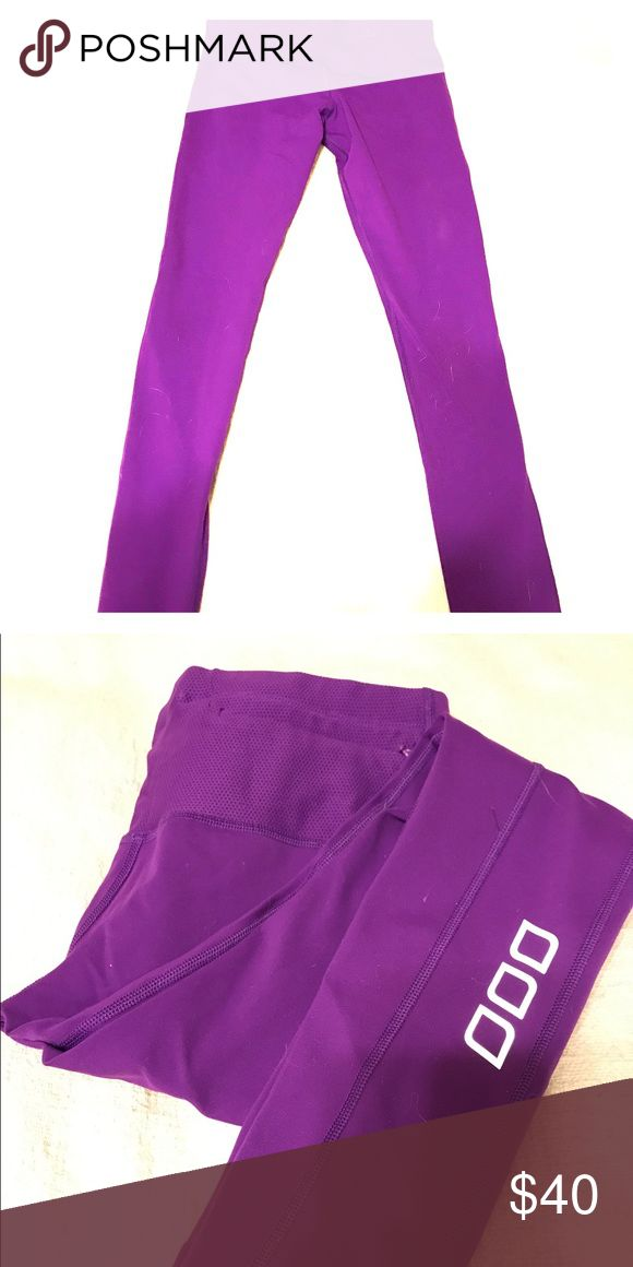 Lorna Jane purple activate core f/l tight Beautiful purple tights! I wore them once, just a bit small for me Lorna Jane Pants Leggings