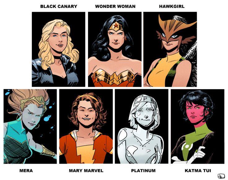 All Female Justice Lea...