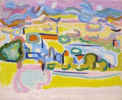 WC024 - Fauvist Landscape - Caziel