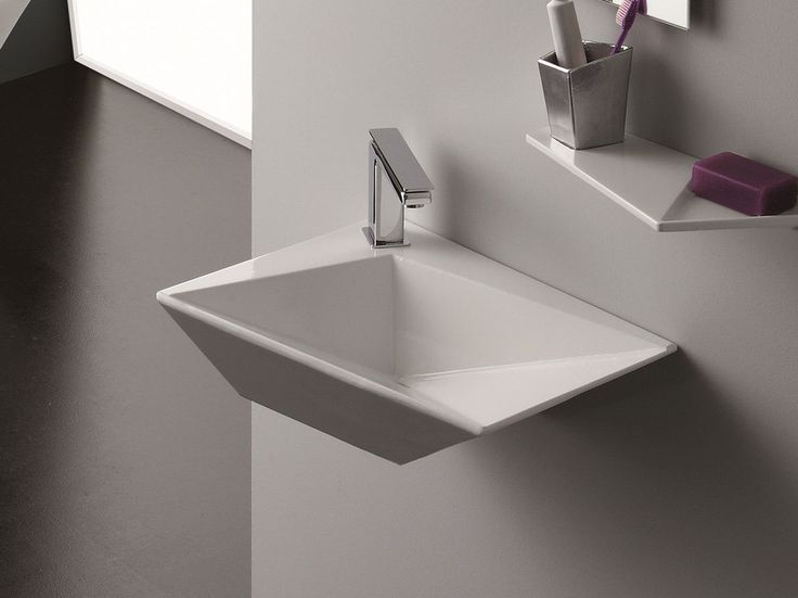 WALL MOUNTED WASHBASIN CRYSTAL COLLECTION BY OLYMPIA CERAMICA | DESIGN FRANCESCO  LUCCHESE Amazing Pictures