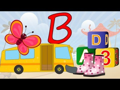 ▶ Learn About The Letter B - Preschool Activity - YouTube