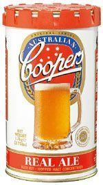 Coopers Real Ale Kit Beer Kits. Homebrew supplies online.