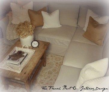 Farmhouse French Living Room Design Ideas