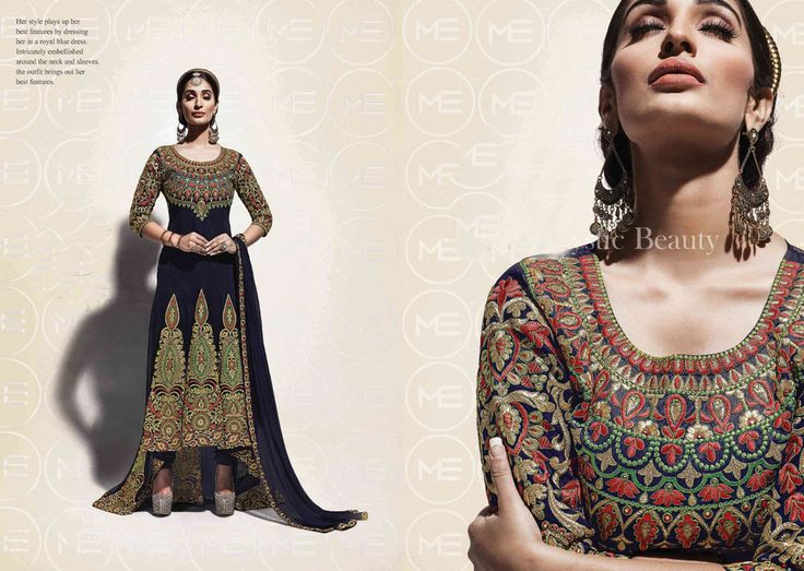 Ethnic Anarkali Designer Salwar Suit Indian Bollywood Pakistani Partydress 2147 #KriyaCreation #DesignerSuit