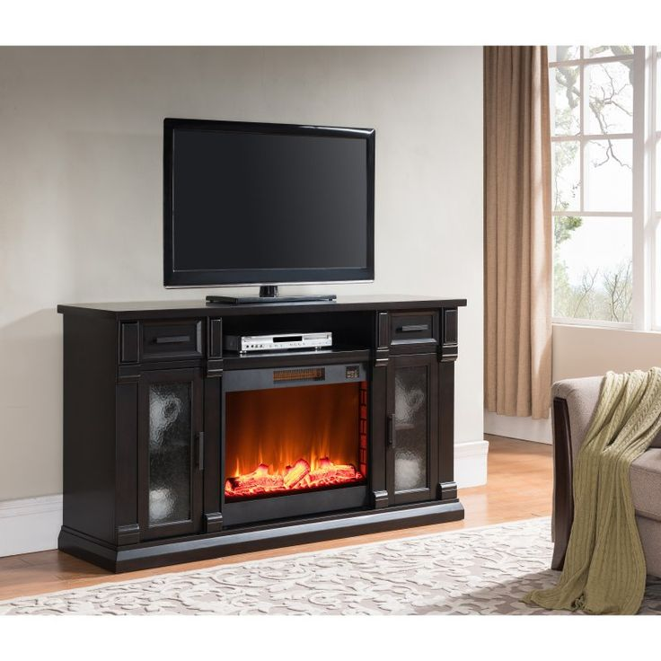 Simmons Coffee Electric Media Fireplace - 7539-42