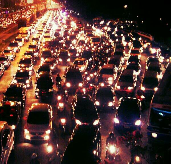 Again and again.. traffic jam..