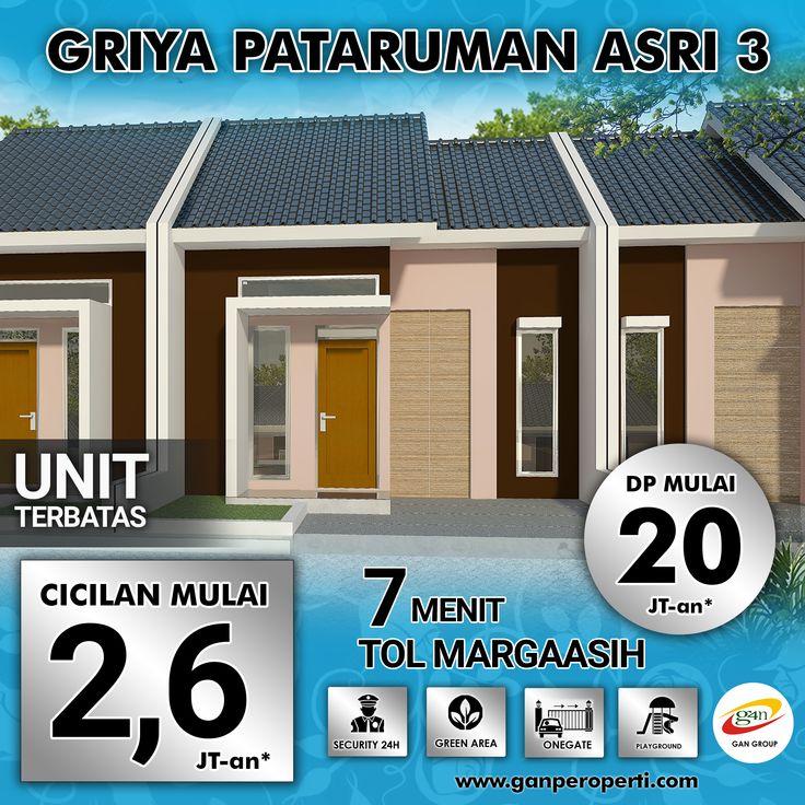 New Project Griya Pataruman Asri 3! Hanya 7 Menit Tol Margaasih!  Beli NUP untuk dapat HARGA PERDANA! UNIT SANGAT TERBATAS!  Beli sekarang juga jangan ditunda lagi! Info Telp/WA 0812 3238 5000. Cek Proyek dan Harga Lengkap di www.ganproperti.com.  #house #rumahnyaman #properti #perumahan #property #realestatelife #realestate #rumah #rumahminimalis #rumahku #rumahbandung #perumahanbandung #25lokasi #website #jualrumah #ganproperti #lokasistrategis #rumahbaru #sorojabandung #houseoftheday…