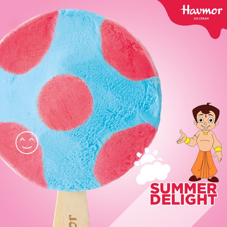 This summer, shoot for the stars with Flying Saucer ice cream from our latest range of #SummerDelight desserts with Chota Bheem.