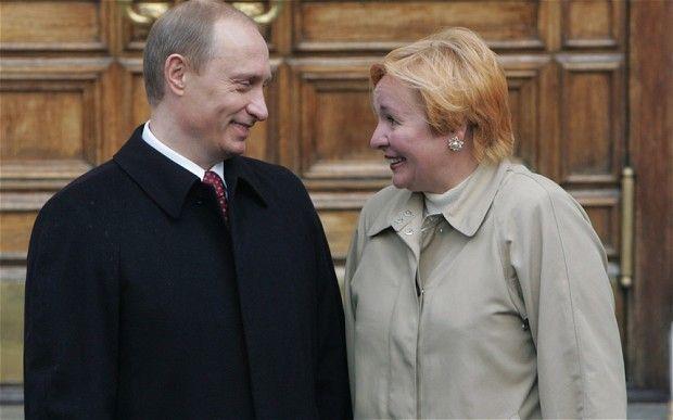 Vladimir Putin's divorce from Lyudmila Putina finalized