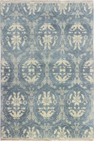 Bashian Heirloom H110-HR106 Light Blue Area Rug – Incredible Rugs and Decor