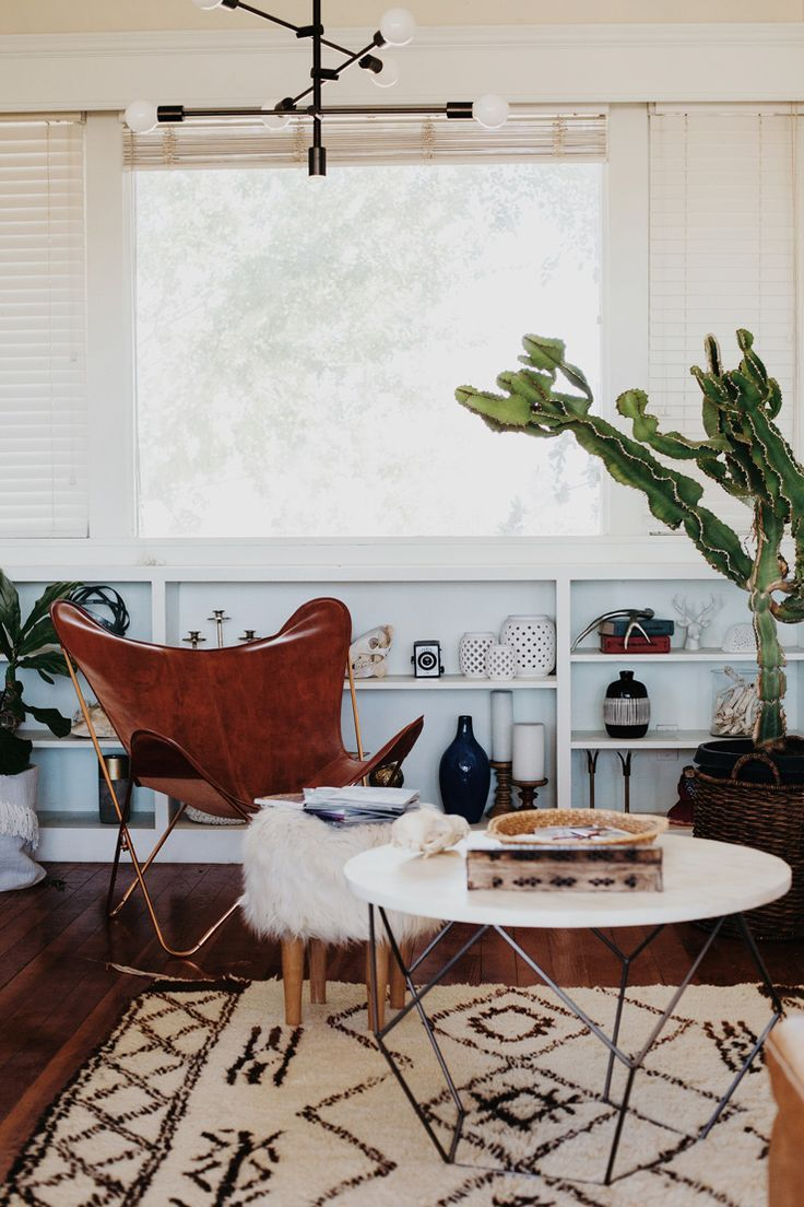 Inside Chy Parker's Indoor Jungle | west elm