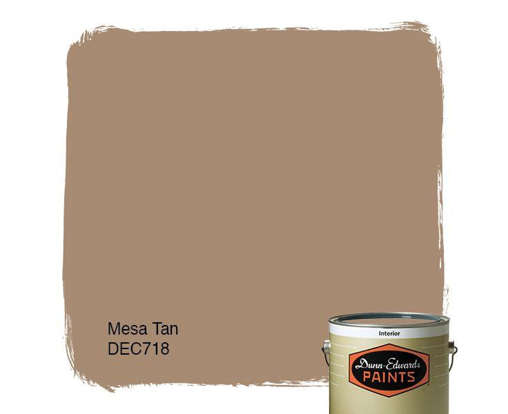 Dunn edwards paints tan paint color mesa tan dec718 for Dunn edwards paint colors
