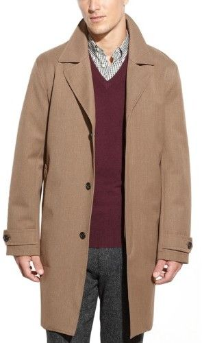 Michael Kors British Khaki All Weather Coat Large L 42R - 44R $300