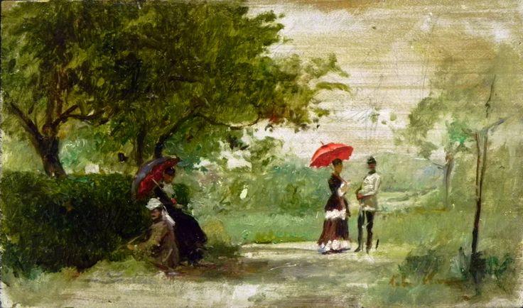 Theodor Aman  - Peisaj