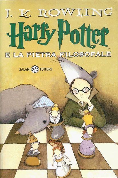 Harry Potter e la pietra filosofale.  Primo posto, 399 prestiti