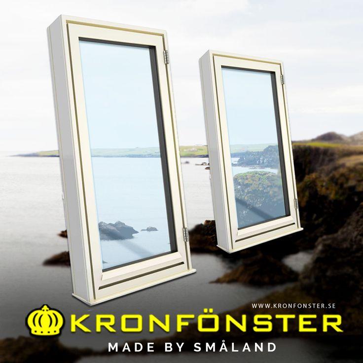 Fönster från Kronfönster - Made by Småland  Småland: Utåtgående fönster allmoge 1-luft 3-glas  #fönster #pvcfönster #superenergiglas #Kulturfönster #Kronfönster  Läs mer » https://goo.gl/A9kMW1