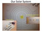 Solar System - The Eight Planets Activity and Poster