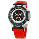 Tissot T-Race Red Rubber Bracelet Mens Watch T048.417.27.051.01 (Watch)