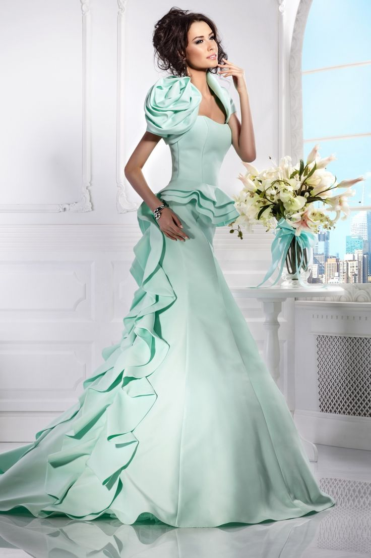 41 best Bridal Attire images on Pinterest   Wedding dressses, Bridal ...