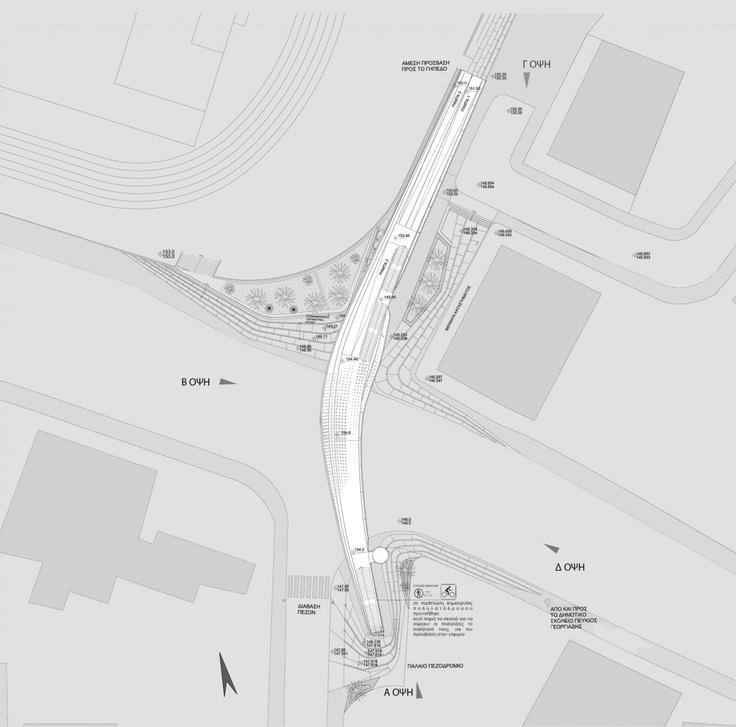 Footbridge Plans: Gallery Of Footbridge In Cyprus Proposal / Elina Pattichi