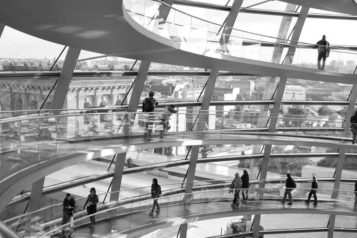 BERLIN / Reichstag (Foster & Partners, 1992-1999) © F.Martin