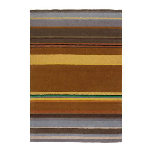 STOCKHOLM Rug, low pile IKEA The rug is made of pure new wool so it's naturally soil-repellent and very durable.