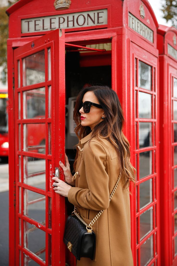 Traditionelle rote Telefonzelle | #London #vintage #Architektur #interieur #Zit … –