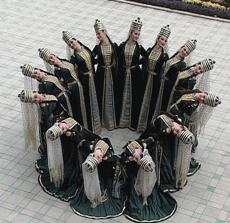 ..Circassian girls dance