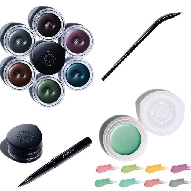 #Shiseido проснулись и радуют новинками - гелевая подводка с инновационной кистью и новые кремовые тени. В продаже осенью