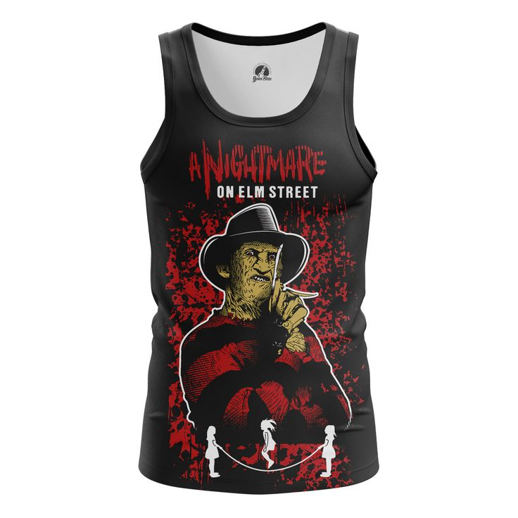 Stunning Mens Tank Nightmare on elm street   – Search tags:  #boysshirts #boystanks #moviesmerchandise #Tanksformensaustralia #Tanksformensbuy #Tanksformenscanada #Tanksformensuk #tvseriesmerchandisemaletank Check more at https://idolstore.net/shop/categories/apparels-clothes/boys-tank-nightmare-on-elm-street-collectibles-merchandise/