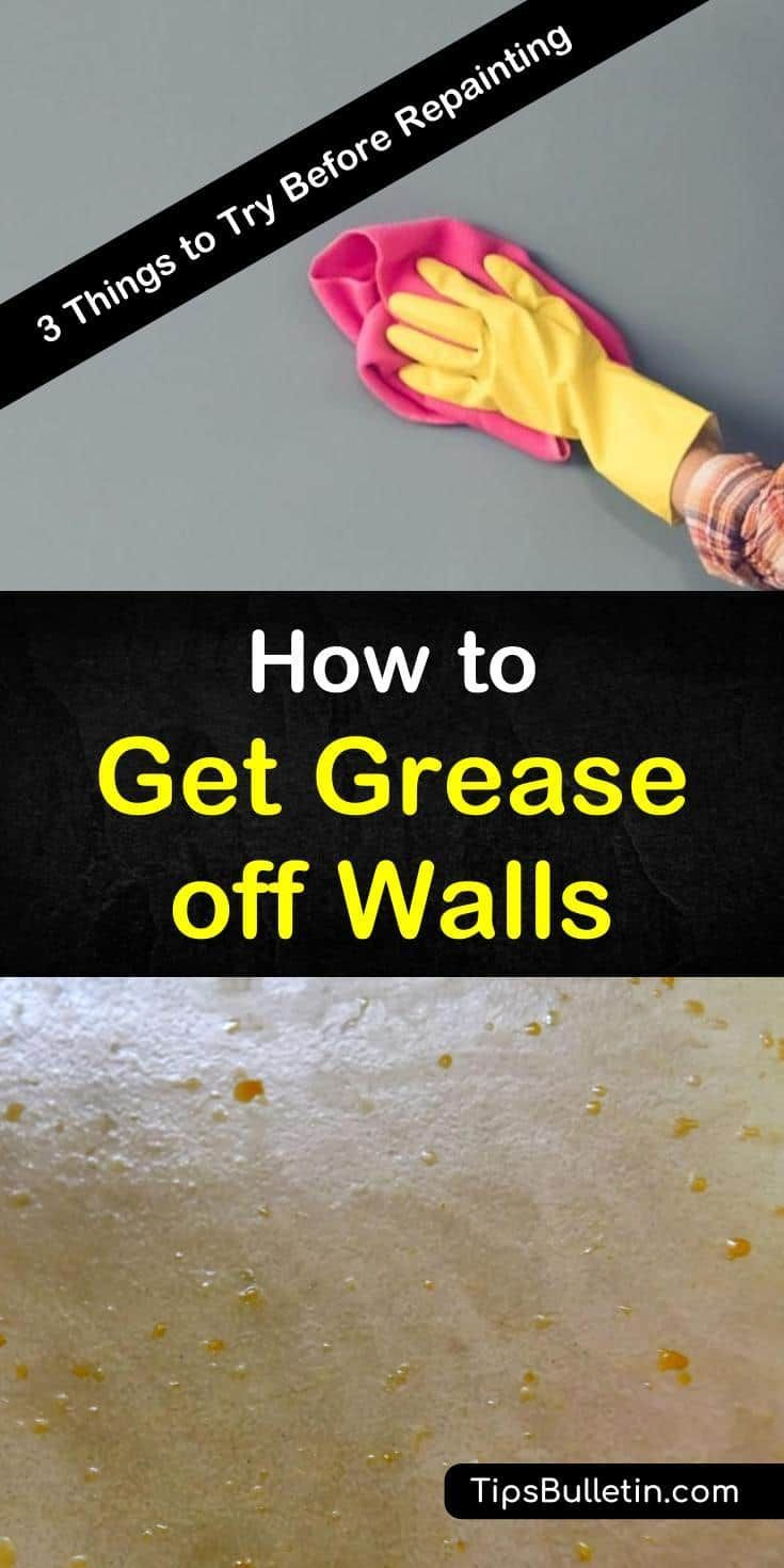 3 Smart Ways To Get Grease Off Walls Clean Kitchen Cabinets